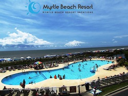 Myrtle Beach Resort One of Four Pools
