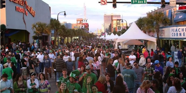 Ocean Boulevard's 2015 St. Patrick's Day Celebration