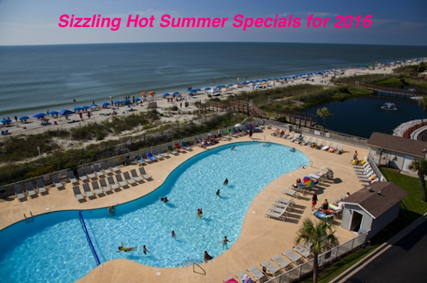 Sizzling Hot Summer Specials for 2016