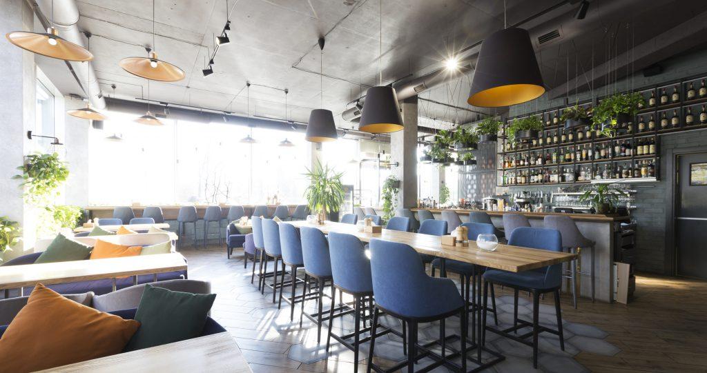 new modern restaurant