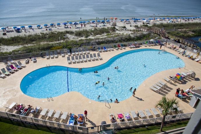 Myrtle Beach Resort Oceanfront Gated