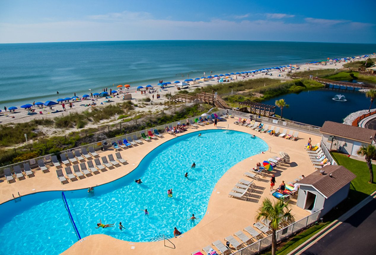 Myrtle Beach Resort Oceanfront Gated Family Friendly Resort
