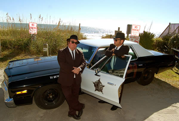 The Blues Brothers at Legends in Concert
